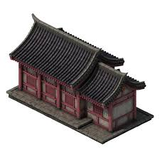 city building small house 044 3d model in decoration 3dexport