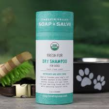 fresh fur dry dog shampoo chagrin valley soap and salve