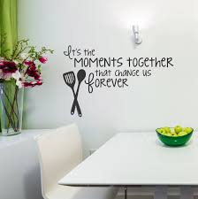 moments together vinyl wall decal family saying for kitchen decor