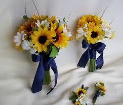 Sunflower Bouquets 12 Best Sunflower Wedding Bouquets Images On Pinterest Sunflower