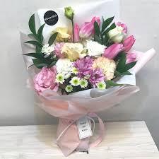 flower gift pink light flower bouquet flower delivery south korea 320 5