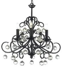 Black Traditional Chandelier Iron And Crystal Chandeliers U2013 Eimat Co