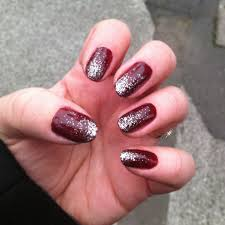 paint nails red and silver nail designs pinterest ombre