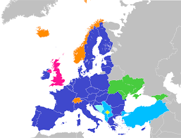 Map Of The Middle East And Europe by Future Enlargement Of The European Union Wikipedia