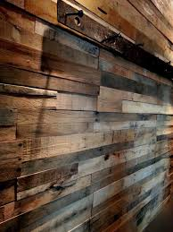 easy install reclaimed wood wall panels set of 4 panels rustic