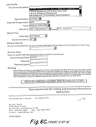 Barback Resume Examples by Patent Us7958059 System And Method For Interactively Entering