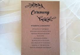 wedding ceremony cards wreath ceremony cards wedding stationery
