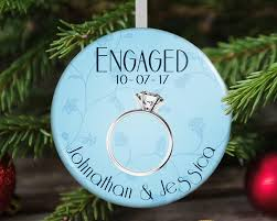 engaged ornament engagement gift