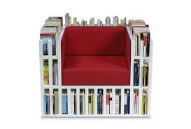Armchair Books A Comfortable Armchair That Is Also A Bookshelf That Holds 300