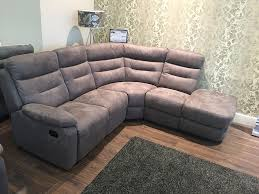 Fabric Reclining Sofa 4 Seater Fabric Recliner Sofa Www Energywarden Net