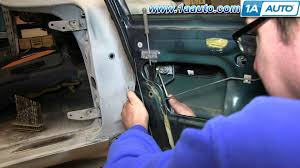 how to install replace outside door handle 1996 2000 honda civic