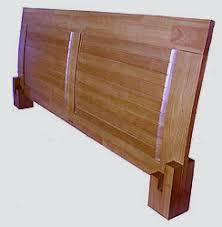 Oak Headboard King Platform Beds Low Platform Beds Japanese Solid Wood Bed Frame
