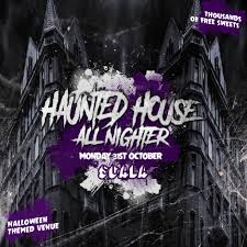 the halloween haunted house all nighter tickets scala london