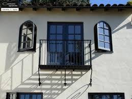 wrought iron balcony mediterranean exterior san francisco