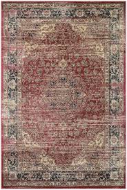 Couristan Outdoor Rugs Couristan Zahara Persian Vase And Red Black Oatmeal 0428 0280 Area