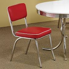 Retro Dining Room Tables by Retro Dining Room Set W Red Chairs Casual Dining Sets Dining