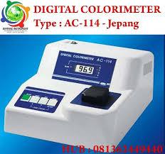 sell digital colorimeter ac 115 brand optima japan colorimeter