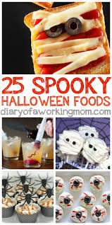 25 spooky halloween treats diary of a working mom