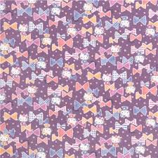 wallpaper hello kitty violet violet purple pastel hello kitty ribbon confetti oxford fabric by