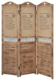 wood burlap screen rustic screens and room dividers by