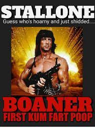 Shid Meme - stallone guess who s hoarny and just shidded boaner first kum fart