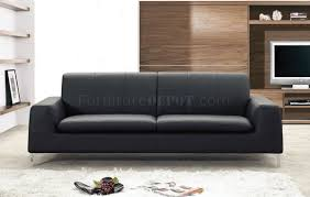 Modern Black Leather Sofas Or White Leather Contemporary Sofa