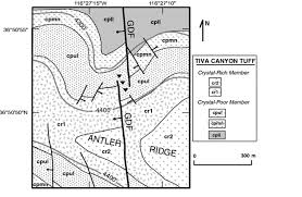 The Ghost Map Structural Geology Of The Proposed Site Area For A High Level
