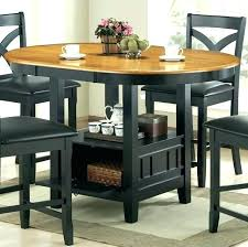 pub table with wine rack wine racks dining table with wine rack underneath large size of