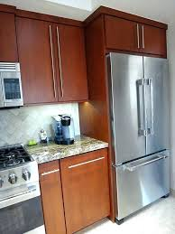 cabinet enclosure for refrigerator fridge cabinet panel exotic refrigerator refacing full depth