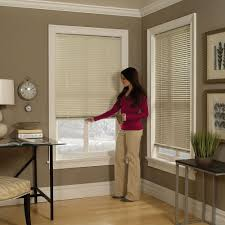Cordless Window Shades Cordless Aluminum Mini Blinds Blindster Com