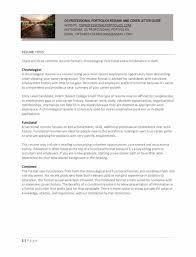 Work Study Resume Free Portfolio Guide Os Professional Portfolios