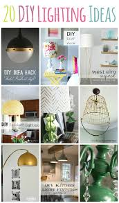 Diy Light Fixtures 20 Diy Lighting Ideas Light Fixtures Ls And More