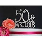 50 and fabulous cake topper black 50 fabulous cake topper kitchen dining