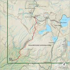 Yellowstone Park Map Best Yellowstone National Park Hike Trail Map National Geographic