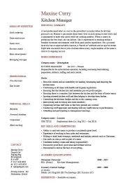 Sample Resume For Kitchen Helper Kitchen Help Resume Resume Samples And Resume Help