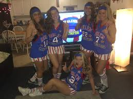 puffy halloween dresses harlem globe trotters group costume required materials blue t
