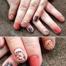 colorful fall nail art ideas images nail art designs
