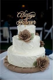 burlap cake toppers country wedding cake toppers burlap flowers groom western eilag
