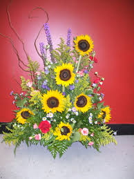 Arranging Flowers by For The Altar Or Church Sunflowers Are Such A Happy Flower Fall