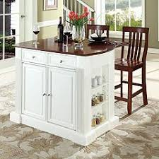 white crosley furniture kitchen carts u0026 islands furniture kohl u0027s