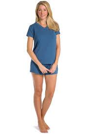 s pajamas ecofabric t shirt boxer pajama set fishers finery