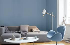 Wohnzimmer Farbe Grau Bescheiden Wandfarbe Grau Blau Premium Graublau Alpina Feine