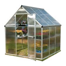 Palram Lean To Greenhouse Greenhouses Garden Greenhouses The Mine