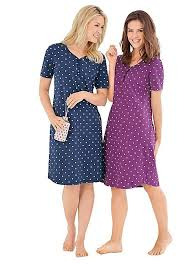 pack of 2 cotton nightdresses by witt witt international