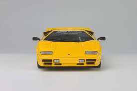 yellow lamborghini countach gt spirit 1 18 lamborghini countach turbo koenig yellow asian