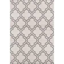 world rug gallery modern trellis pattern cream 7 ft 6 in x 9 ft