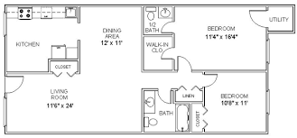 two floor plan apartment floor plans two bedroom apartments in clifton park