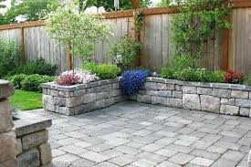 Backyard Ideas With Pavers Landscaping Ideas Using Pavers Large Size Of Garden Designs With