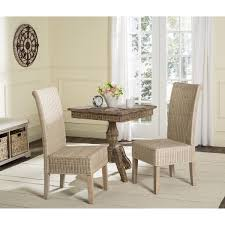 Woven Chairs Dining Safavieh Rural Woven Dining Arjun White Washed Wicker Dining