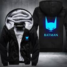 popular mens winter jacket batman anime cheap mens winter